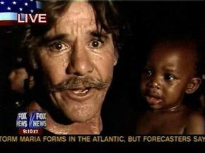 Geraldo Rivera Protects And Serves