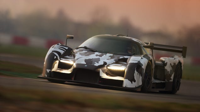 We're Having 'A Moment' With The First Shots Of The SCG 003