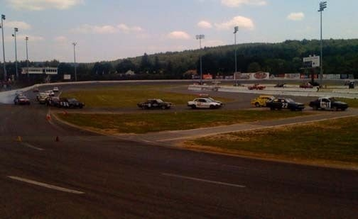Three Hours In, Civic Leads At 24 Hours Of LeMons New England