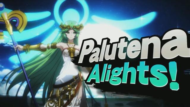 Smash Bros' Surprise New Hero: Lady Palutena