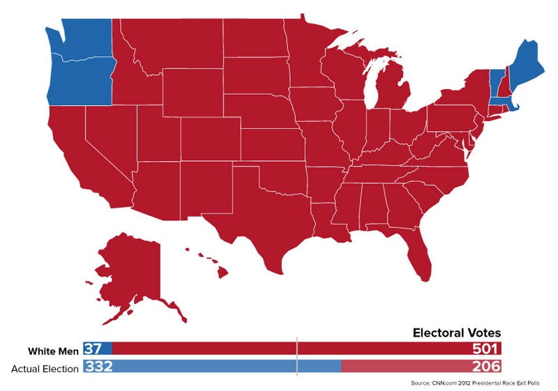 Alternate history maps of the US presidential election