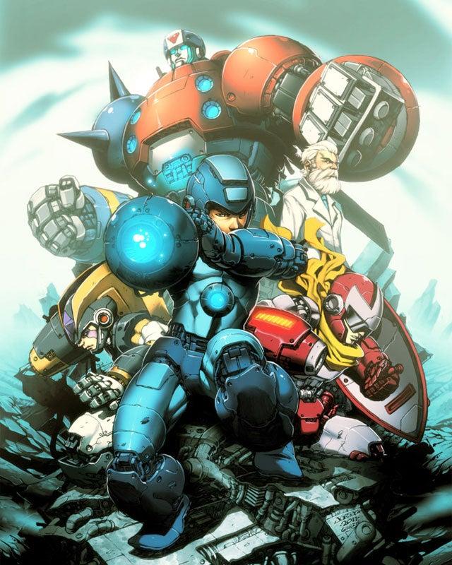 A Mega Man That's More Than Meets The Eye