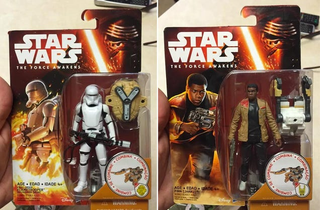 And so Begins the Slow and Steady Leak of Star Wars: The Force Awakens Toys