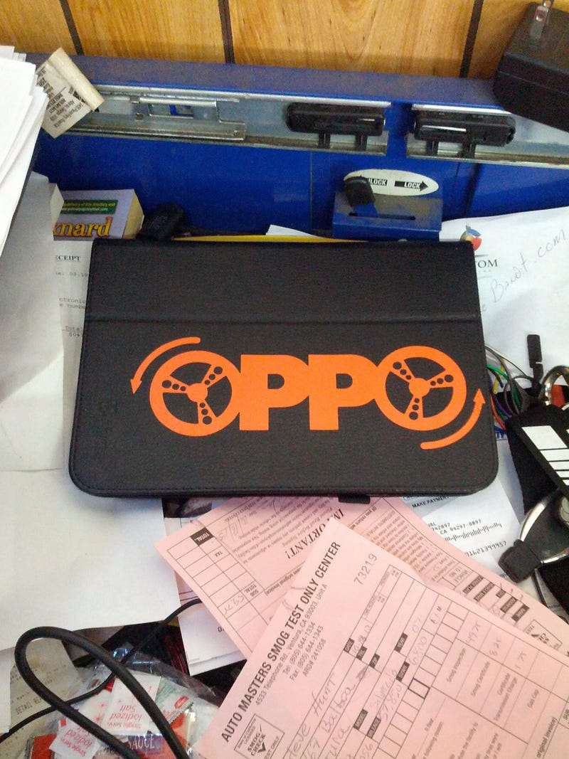 Oppo Stickers Installed! Buy Some, NOW!