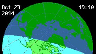Heads up. Most of North America will see a partial solar eclipse today.