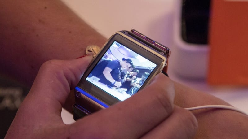 Galaxy Gear Hands On: More Watch Than You'll Ever Need
