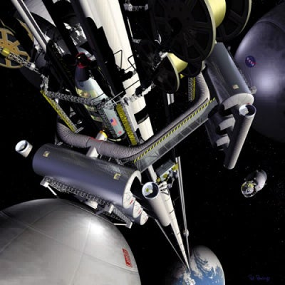 New NASA Carbon Material Could Make Space Elevators Possible
