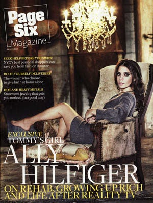 Dear Page Six Mag: Ally Hilfiger Is Actually A Monumental Figure In History