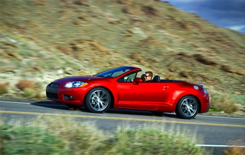 """New Car Smell"" Less Toxic, But The Mitsubishi Eclipse Spyder Smells Funny For A Reason"