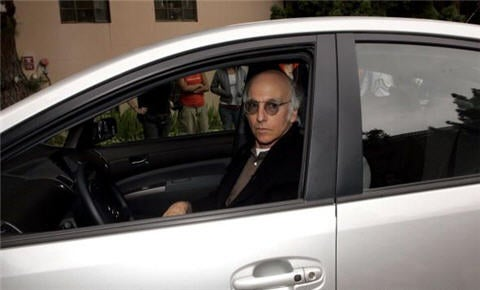 Larry David Drives A Toyota Prius