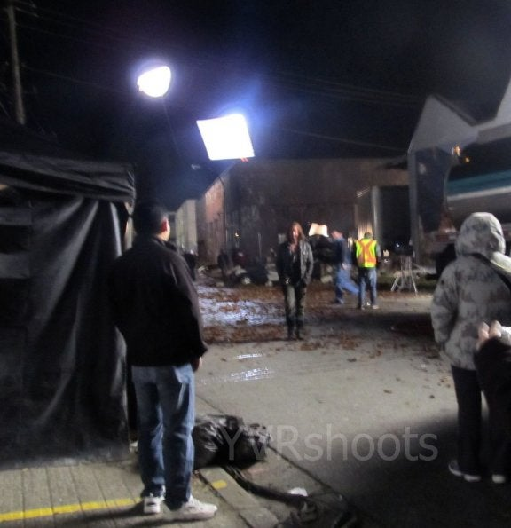 Falling Skies Set Pictures