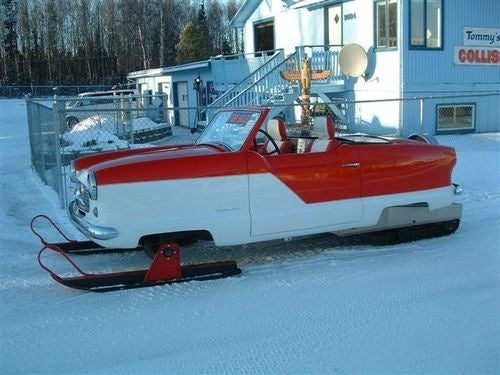 Nash Metropolitan Snowmobile