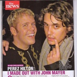 Just Because You're a Philosopher It Doesn't Mean You Didn't Make Out With Perez Hilton