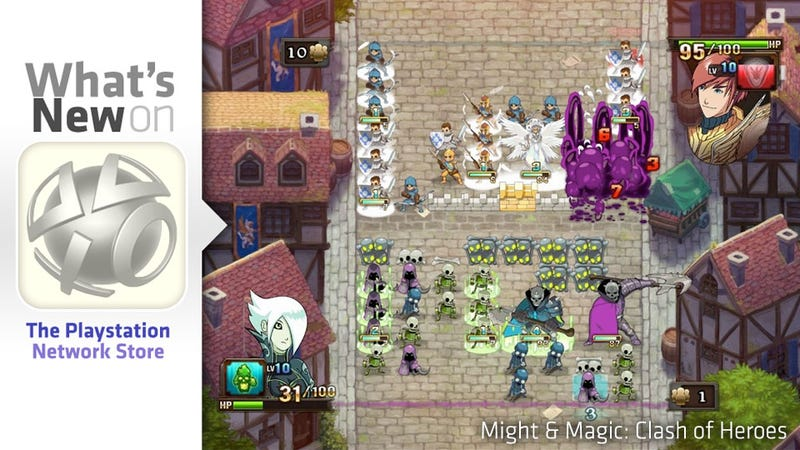 PlayStation Store Update: Might & Magic: Clash of Heroes, Steel Rain and the Gun Sonata Arrive