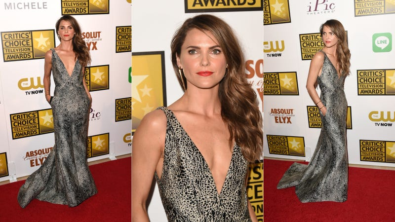 Sheer, Shiny and Slinky Gowns at the Critics' Choice Television Awards