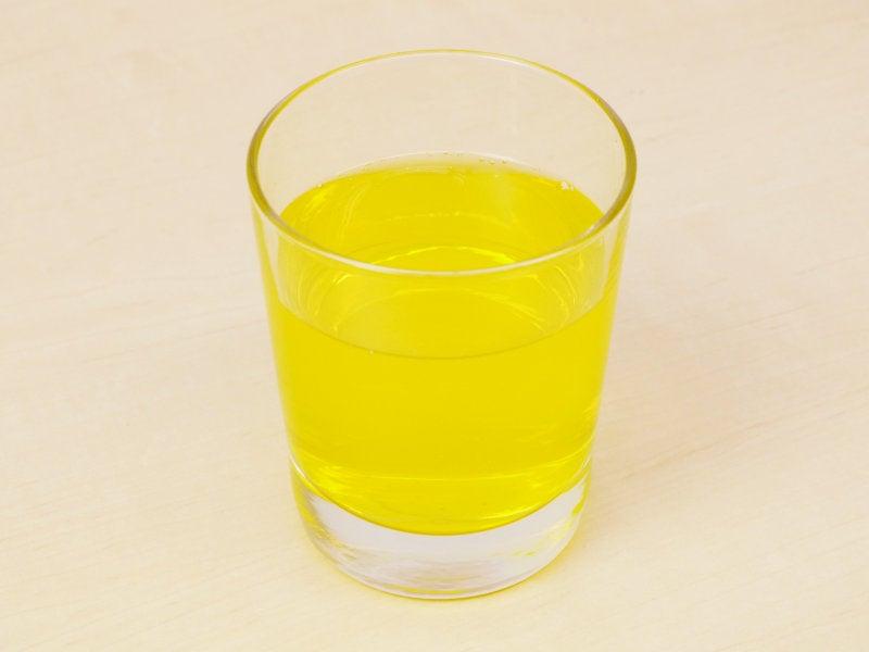 Monster Hunter Juice Is Yellow