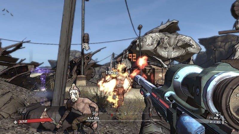 Borderlands Preview: It Shoots Rockets!