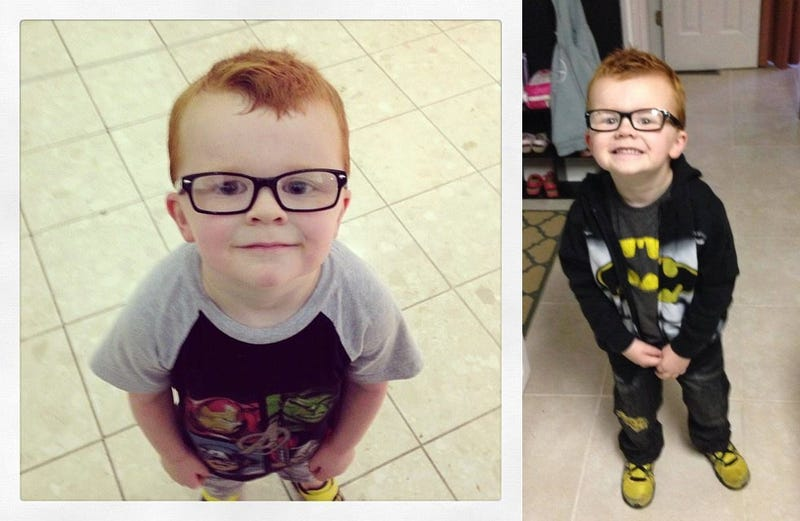Internet Helps Little Boy with Glasses Overcome Fear of Being Bullied