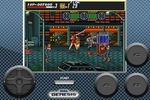 Streets Of Rage, Now On iPhone