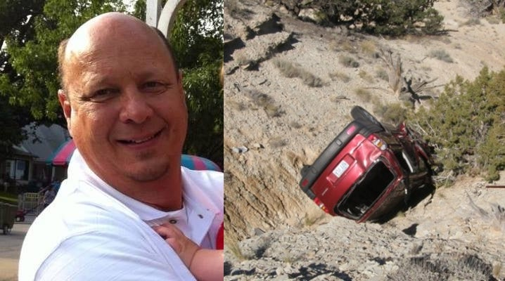 Salesman Dies After Days in Car Wreck; Wrote Farewell Letters to Family
