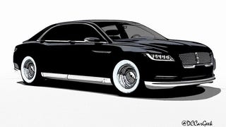 Lincoln Continental Looks Damn Good in a Tuxedo