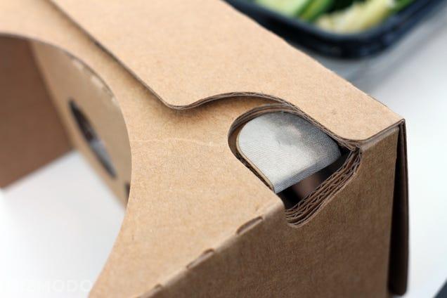 Google's New Cardboard Hands-On: A Little Bigger, A Little Better