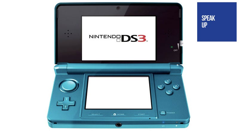 You Should Definitely Buy Your Child a Nintendo DS3, the 3D Version of the DS