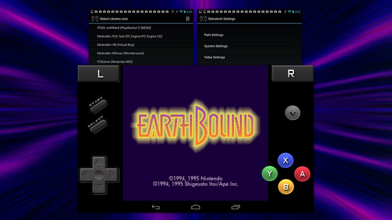 Retroarch emulates nearly every classic gaming console on android - Android console application ...