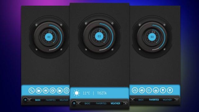 The Bluetech Home Screen