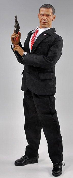 Best Obama Action Figure Ever Battles Darth Vader, Terrorists, Dick Cheney