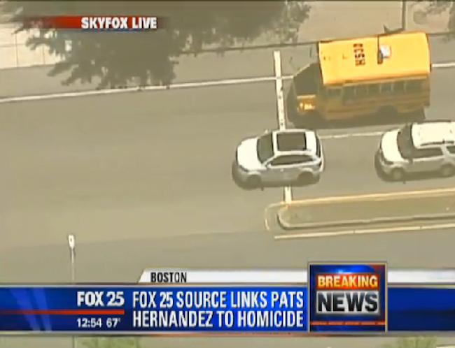 """Report: Aaron Hernandez Arrest """"Likely"""""""