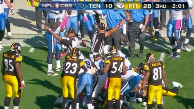 The Titans Recovered. The Steelers Recovered. The Titans Recovered. The Steelers Recovered...
