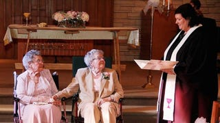 90-Year-Old Women Get Married After Seven Decades Living Together