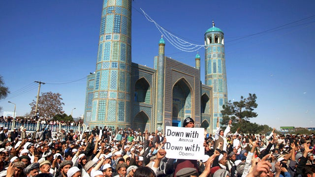 Afghan U.N. Workers Killed During Protest Of Pastors' Quran Burning