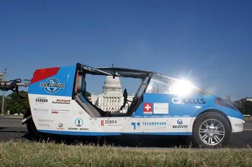 Solar Powered Car Attempts to Circle Globe as Slowly as Possible