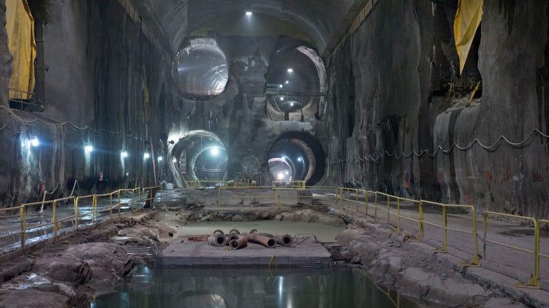 Estos son los increíbles túneles que agujerean Manhattan