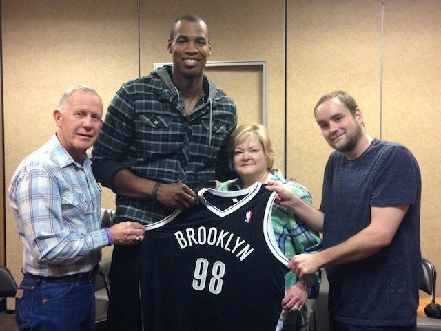 Jason Collins Meets With Matthew Shepard's Family