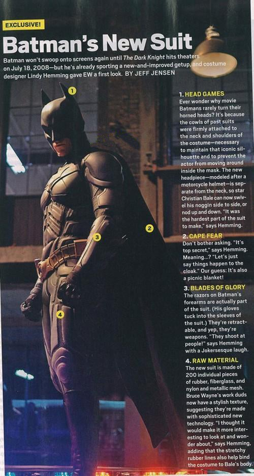 Batman's New Suit Kicks Even More Ass