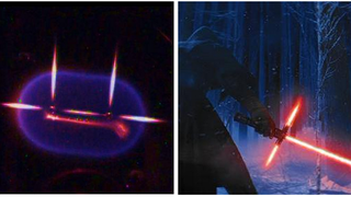 This NASA Experiment Looks Just Like <i>Episode VII</i>'s New Lightsaber