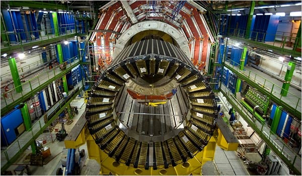 Is The Large Hadron Collider Being Sabotaged from the Future?