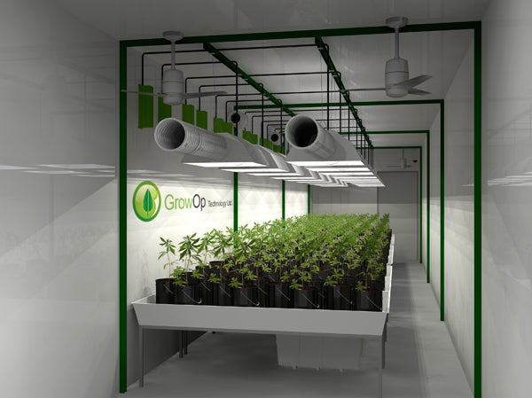 This Could Be California's First Pot Factory