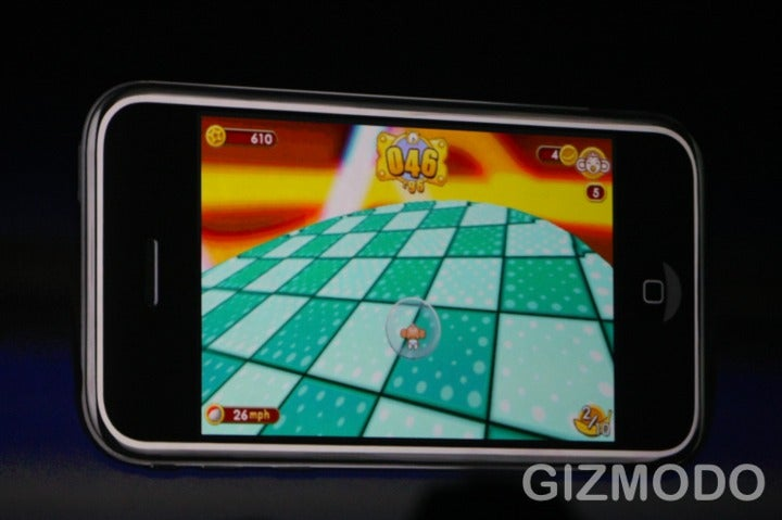 WWDC: iPhone Super Monkey Ball Set To Launch With App Store