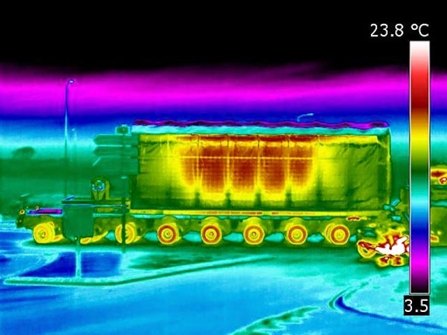 An Infrared Look at 123 Tons of Nuclear Waste Reveals a Hot Mess
