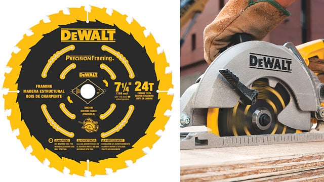 DeWalt's New Saw Blade Does More of the Work For You