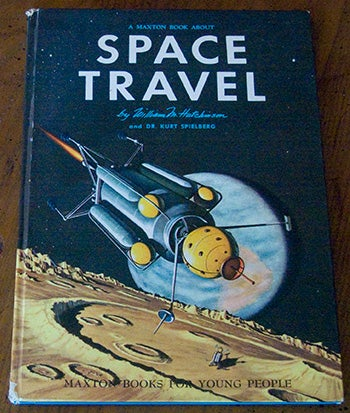 Blast into the space age with vintage science book covers!