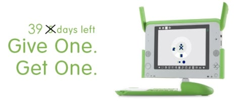 OLPC Give One, Get One Program Extended to Dec. 31, Raking in $2 Million a Day