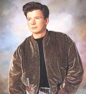 We Will Never Give Up Rick Astley