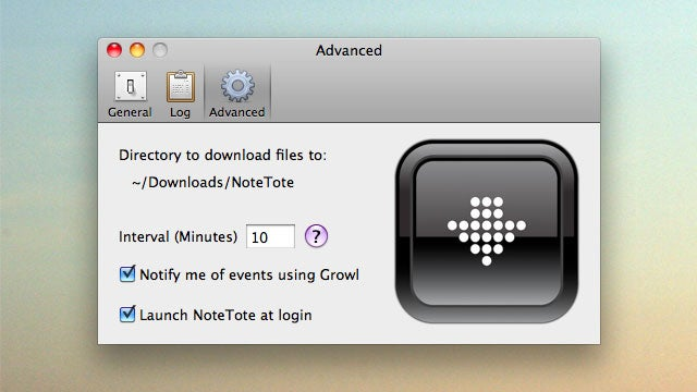 NoteTote Makes Quick Work of Scheduling Downloads Remotely