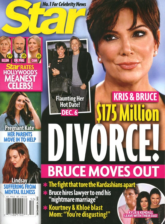 This Week in Tabloids: Rihanna Plans on Killing Chris Brown if He Breaks Up With Her
