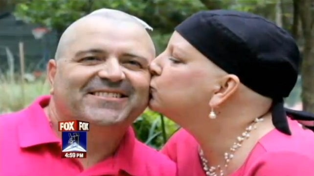 Man Shaves Head for Cancer-Stricken Wife, Discovers Cancerous Spot on His Scalp